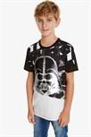 tričko Desigual Darth negro