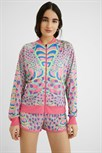 mikina Desigual Club Of Colors chicle