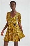 šaty Desigual Akrom amarillo trigo
