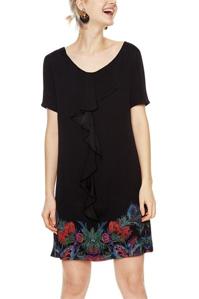 šaty Desigual Octavio negro