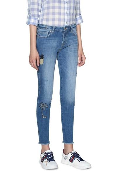 jeansy Desigual Denim Loane denim medium light