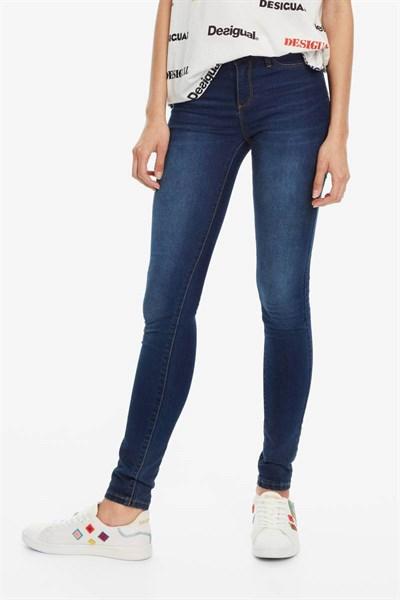 jeansy Desigual Denim Irati denim medium dark