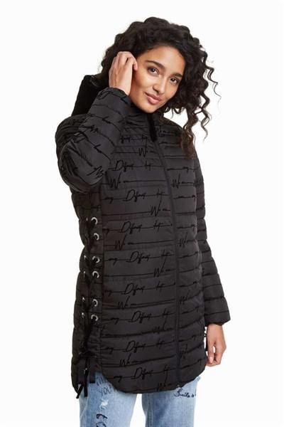 kabát Desigual Lucille negro