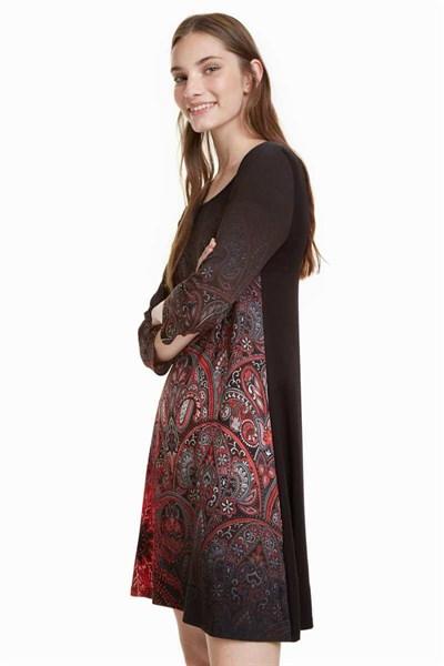 šaty Desigual Jaipur negro