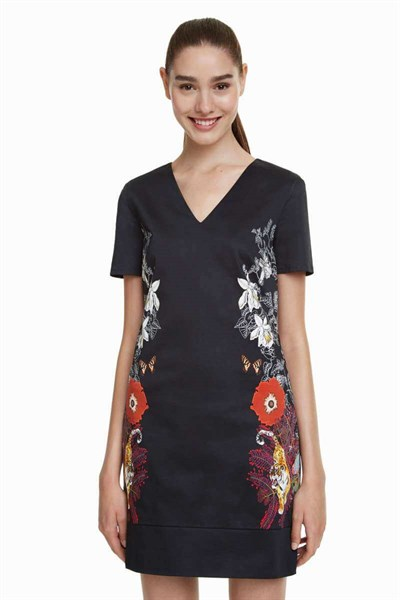 šaty Desigual Salonica negro