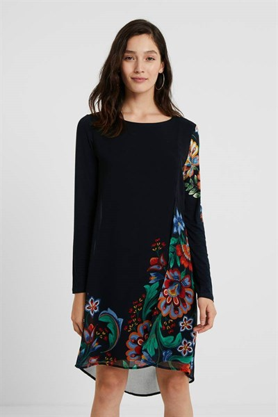 šaty Desigual Utha negro