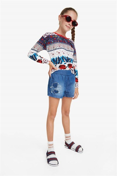 šortky Desigual Buendia jeans