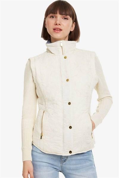 kabát Desigual Tracy egret