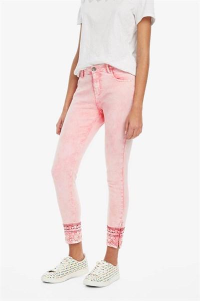 jeansy Desigual Miami rosa carnal