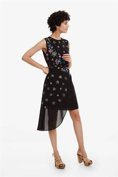 šaty Desigual Verso negro
