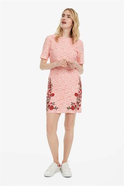 šaty Desigual Nakato coral