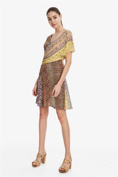 šaty Desigual Clanzie orangery