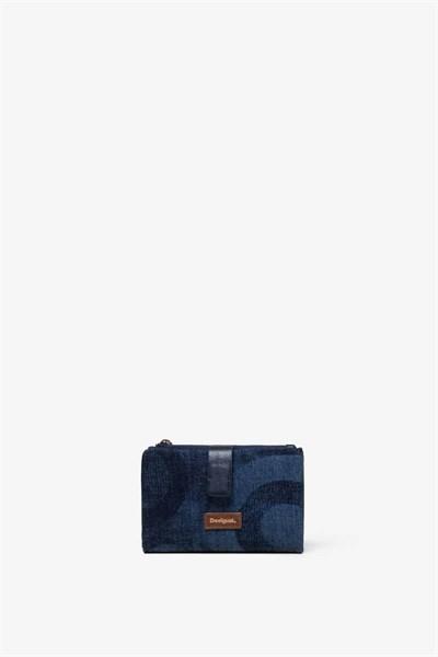 peněženka Desigual Gravity Pia Mini jeans
