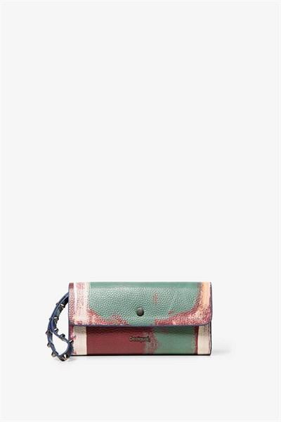 peněženka Desigual Love Kaos Revers berenjena
