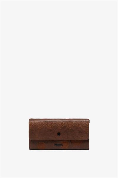 peněženka Desigual Albita Reversible tabaco