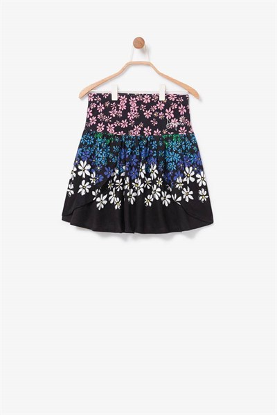 sukně Desigual Rainbow negro