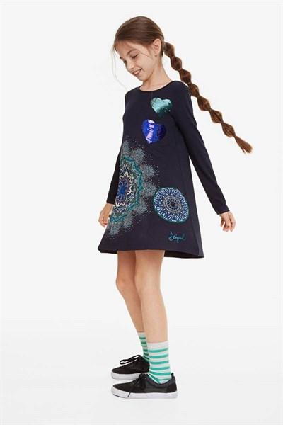šaty Desigual Pera navy