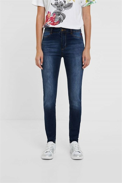 jeansy Desigual Basic denim medium dark