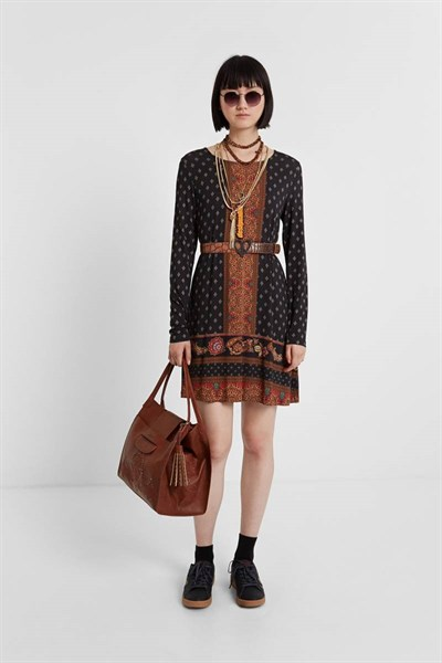 šaty Desigual Camille negro
