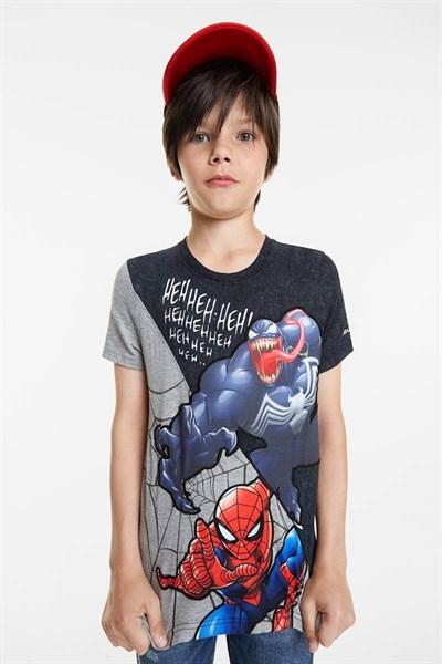 tričko Desigual Spider negro