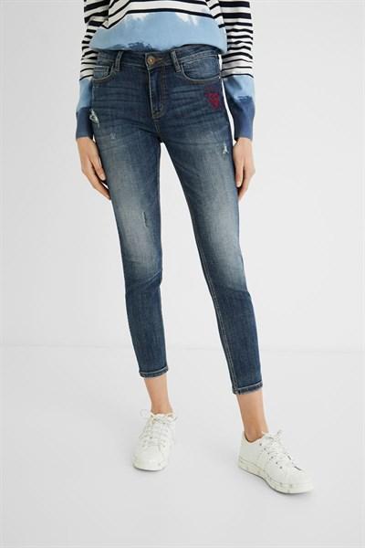 jeansy Desigual Kasand denim medium wash