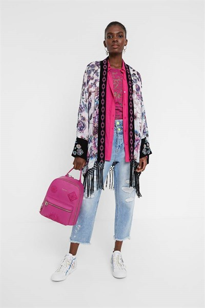 kimono Desigual Williamson rosa west