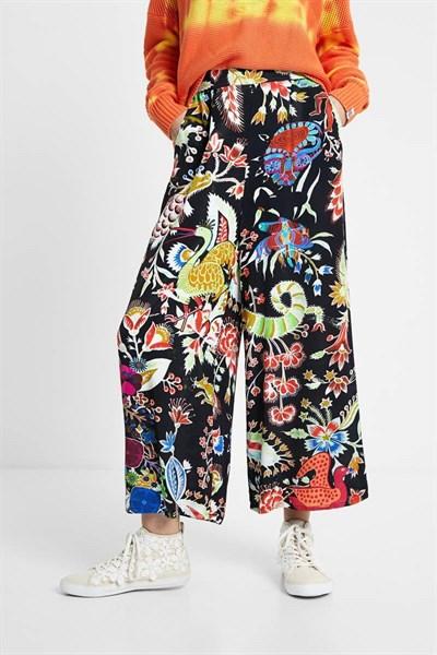 kalhoty Desigual Artemisa negro