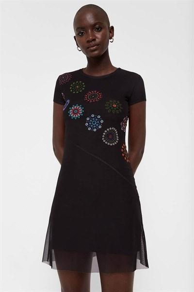 šaty Desigual Dammi negro