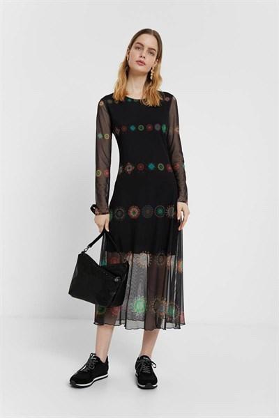 šaty Desigual Kingston marino