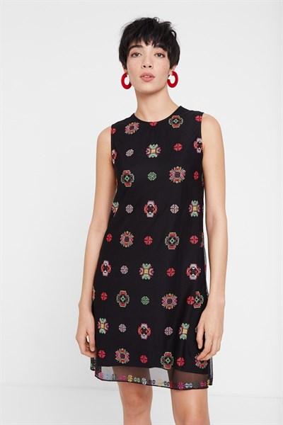 šaty Desigual Tresor negro