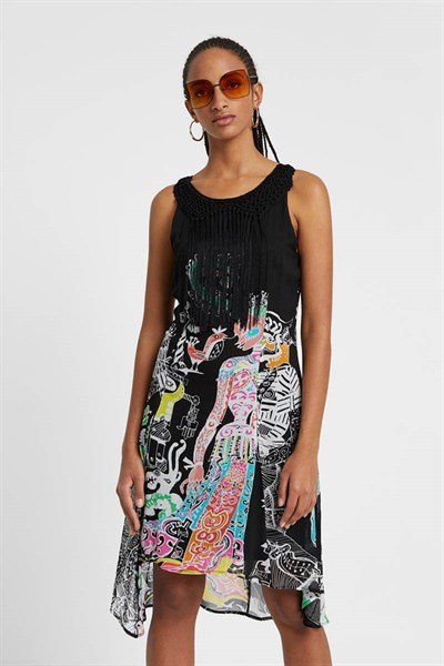 šaty Desigual Genova negro