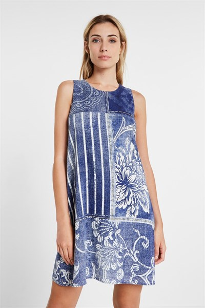 šaty Desigual Karen navy
