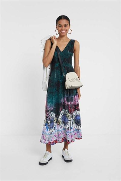 šaty Desigual Florencia june bug
