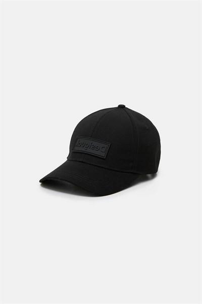 čepice Desigual Logo jet black