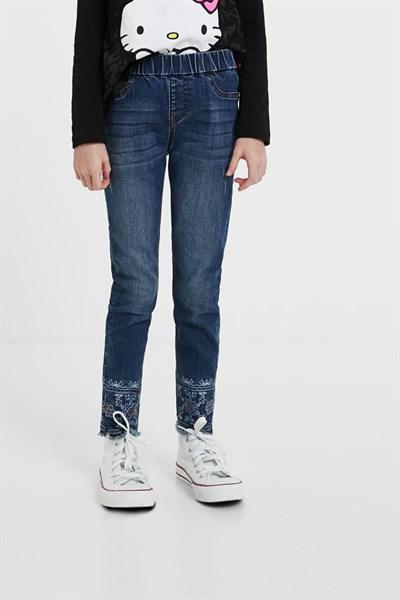 jeansy Desigual Marti denim dark blue