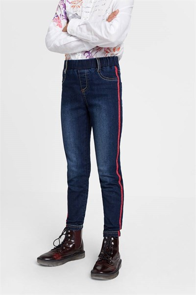 jeansy Desigual Alvarez denim dark blue