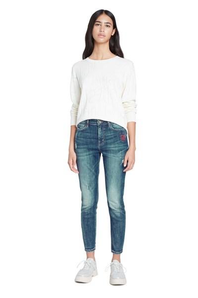 jeansy Desigual Alba denim medium wash