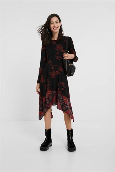 šaty Desigual Chicago persian red
