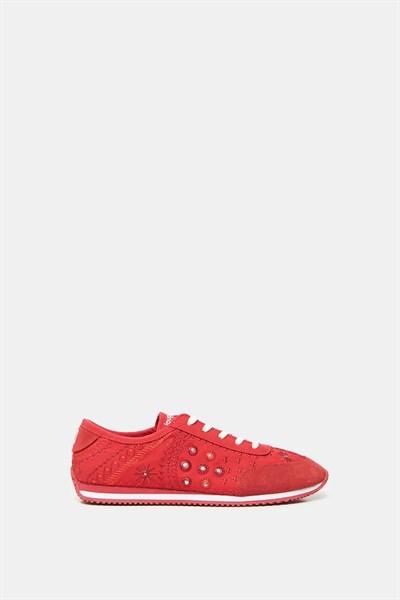 topánky Desigual Royal Exotic rojo roja
