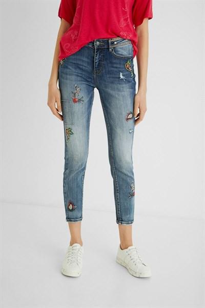 jeansy Desigual Monaco denim medium wash