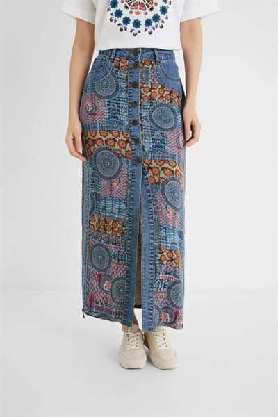 sukně Desigual African azafata