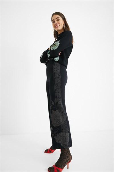 kalhoty Desigual Venus negro