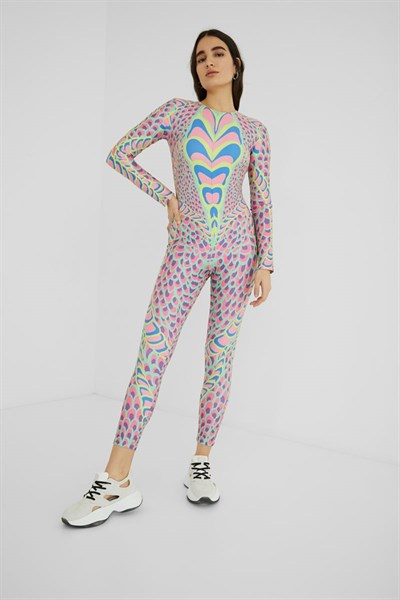 overal Desigual Snake chicle