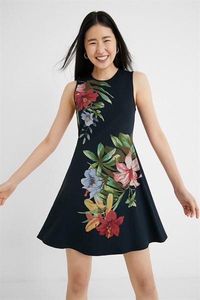 šaty Desigual Kilkeny marino