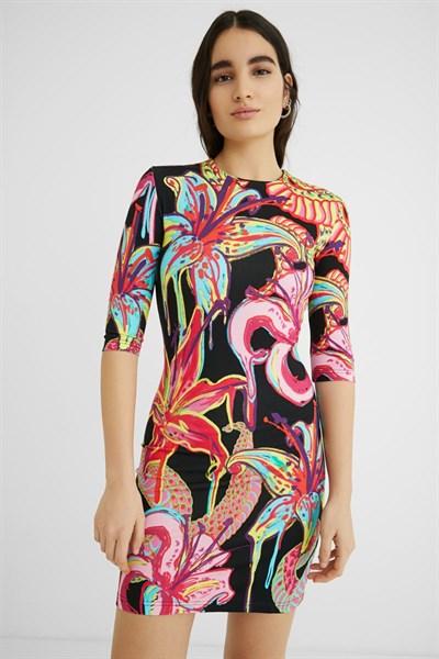 šaty Desigual Club negro