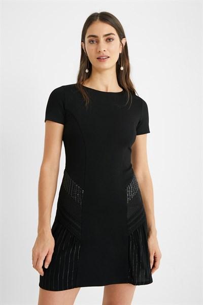 šaty Desigual Cabrils negro