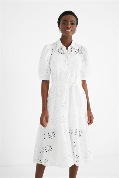 šaty Desigual Noria blanco