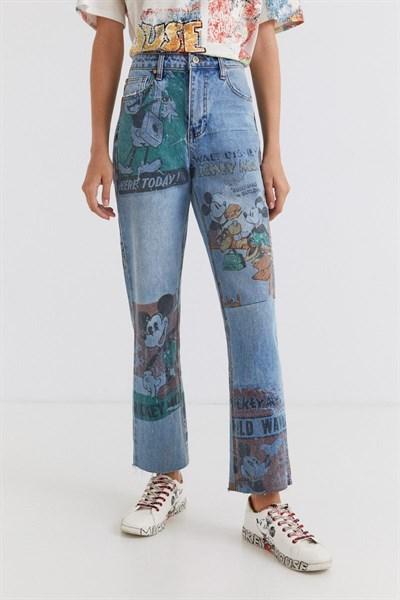 jeansy Desigual Vinta denim medium light