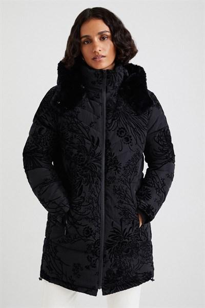 kabát Desigual Japan negro