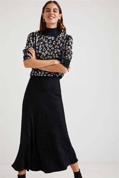 sukně Desigual Demi negro
